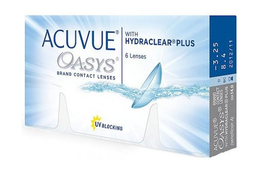 ACUVUE® OASYS with HYDROCLEAR® Plus